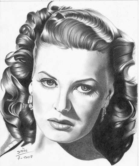 Maureen O'Hara by peggy